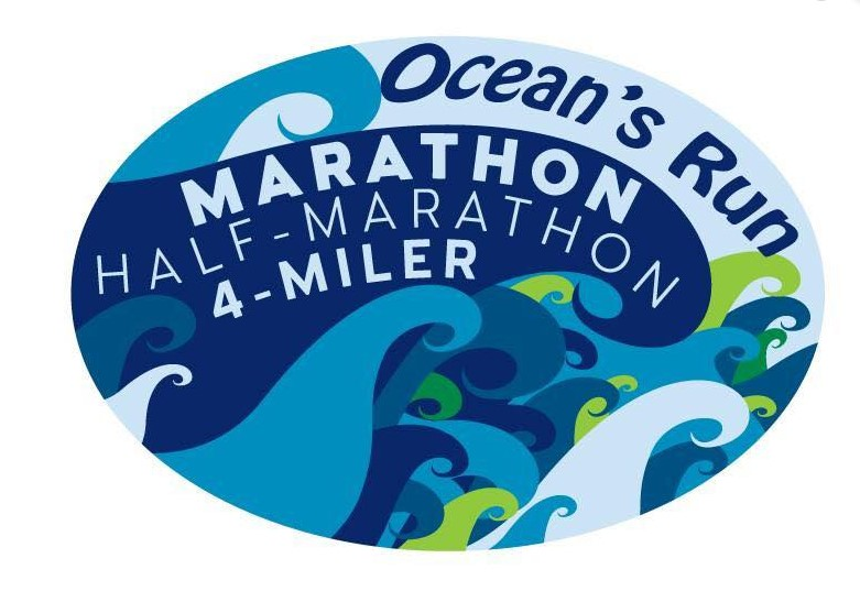 The Ocean's Run Marathon, Half Marathon, 4 Miler