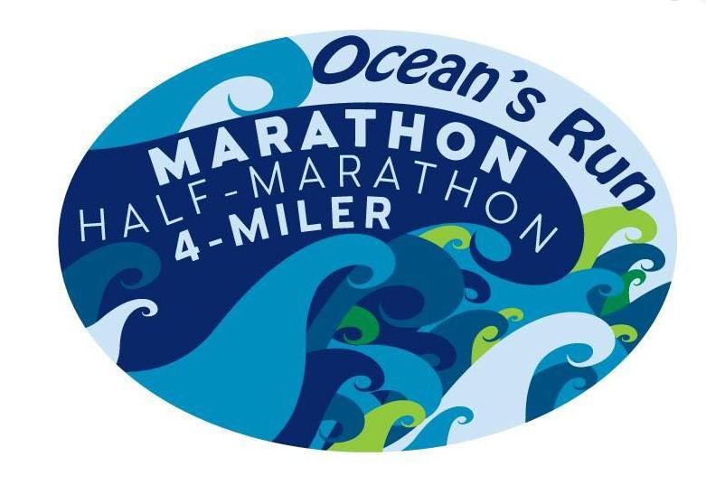 The Ocean's Run Marathon, Half Marathon, 4 Miler
