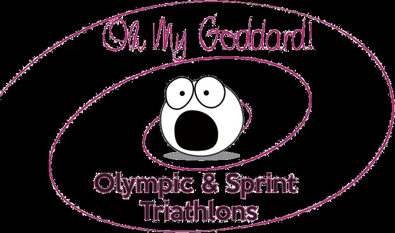 """""""Oh My Goddard!"""" Olympic & Sprint Triathlons"""